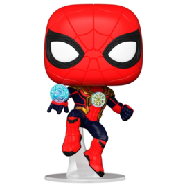 FUNKO POP figure Marvel Spiderman No Way Home Spiderman Integrated Suit (913)