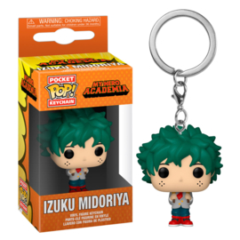FUNKO Pocket POP keychain My Hero Academia Deku in School Uniform