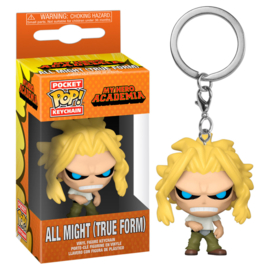 FUNKO Pocket POP keychain My Hero Academia All Might Weakened State