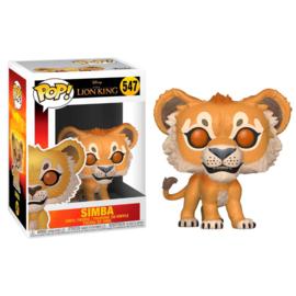 FUNKO POP figure Disney The Lion King Simba (547)