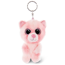 Nici Glubschis Dreamie Cat plush key chain - 9cm