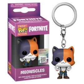 FUNKO Pocket POP keychain Fortnite Meowscles