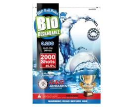 G&G 0.25g Bio Precision BB's 2000rds - White