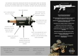 Warhead High Speed Brushless Motor. M/Long. AEG