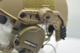 FMA Rail Adapter Z3AD PELTOR for SRD - MSA Headsets (3 COLORS)