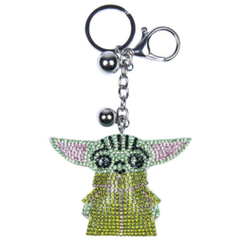 Star Wars The Mandalorian Yoda Child 3D keychain