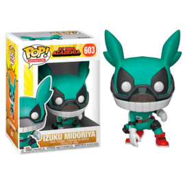 FUNKO POP figure My Hero Academia Deku with helmet (603)