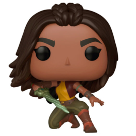 FUNKO POP figure Disney Raya and the Last Dragon Raya Warrior Pose (999)