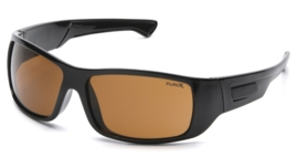 PYRAMEX Furix Anti-Fog Glasses (Class 1) - COFFEE
