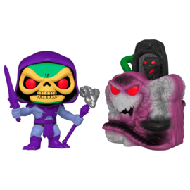 FUNKO POP figure Masters Of The Universe Snake Mountain with Skeletor (23)