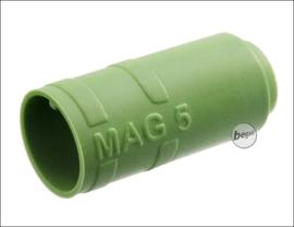 "BEGADI PRO 50° ""MAG5"" AEG R-Hop-Up bucking-packing-rubber (GREEN)"