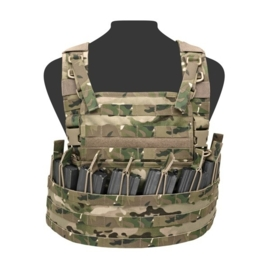 Warrior Elite Ops MOLLE Centurion Chest Rig Base with 8 Internal Open Mag Pouches (MULTICAM)