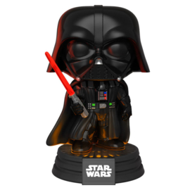 FUNKO POP figure Star Wars Darth Vader Electronic lights and sound (343)