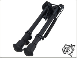 SNOW WOLF Metal spring return folding bipod