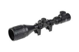 THETA OPTICS 3-9X50 AOEG Scope (BLACK)