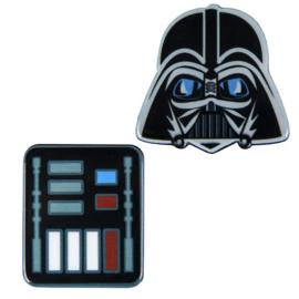 Star Wars Darth Vader set 2 broochs
