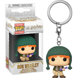 FUNKO Pocket POP keychain Harry Potter Holiday Ron