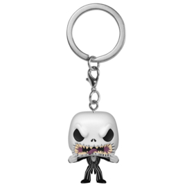 FUNKO Pocket POP Keychain Disney Nightmare Before Christmas Jack Scary Face