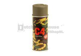 C4 Mil Grade Color Spray Paint / Verf (TAN499)