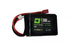 Nuprol Lipo Battery 11.1 PEQ Type. 1300 mAh. Dean Connectors