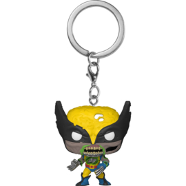 FUNKO Pocket POP keychain Marvel Zombies Wolverine