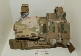 Warrior Elite Ops MOLLE Sabre Leg Rig MK2 - RIGHT HANDED HOLSTER (MULTICAM)