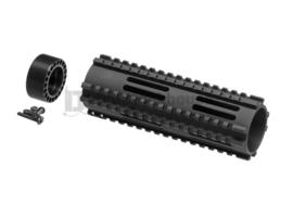 MADBULL Dragon Fire CNC Handguard 7.125 Inch (BLACK)