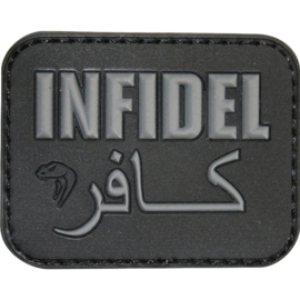 VIPER 'INFIDEL' MORALE PATCH (3 Colors)