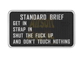 JTG Standardbriefing Rubber Patch