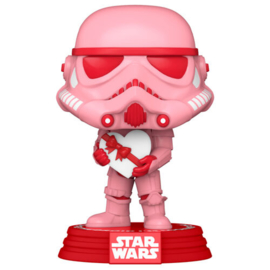 FUNKO POP figure Star Wars Valentines Stormtrooper with Heart (418)