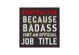 JTG Contractor Rubber Patch