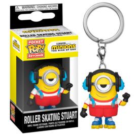 FUNKO Pocket POP keychain Minions 2 Roller Skating Stuart