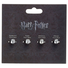 Harry Potter Set 4 assorted spell charm beads
