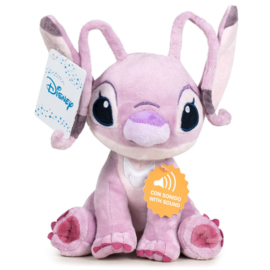 Disney Stitch Angel soft plush toy with sound - 30cm