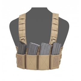 Warrior Elite Ops MOLLE Low Profile Chest Rig (COYOTE TAN)