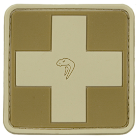 VIPER MEDIC RUBBER PATCH (COYOTE)
