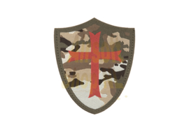 CLAW GEAR Crusader Shield Patch (CAMO)