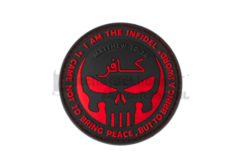 JTG The Infidel Punisher Rubber Patch - Blackmedic