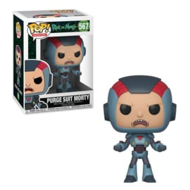 FUNKO Pop figure Rick and Morty Morty in Purge Suit (567)