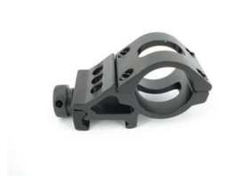 Offset Flashlight Rail Mount (25mm)
