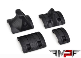 MP 4-piece Hand Stop Kit for RIS Rail (BLACK)