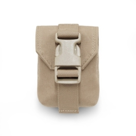 WARRIOR Elite Ops MOLLE Single Frag Grenade Pouch (COYOTE TAN)