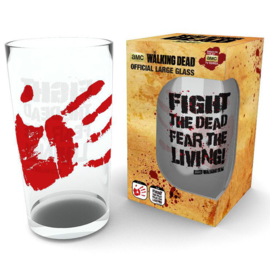 The Walking Dead. Fight the Dead pint glass