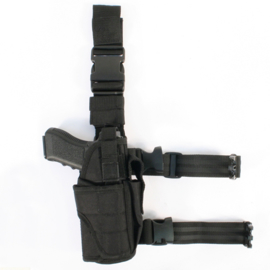VIPER Adjustable Leg Holster - RIGHT/RECHTS HANDED (BLACK)