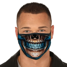 Skull reusable mask 3 layers