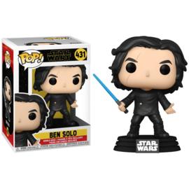 FUNKO POP figure Star Wars The Rise of Skywalker Ben Solo with Blue Saber (431)