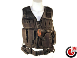 DMoniac Tactical Vest (BLACK)
