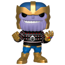 FUNKO POP figure Marvel Holiday Thanos (533)