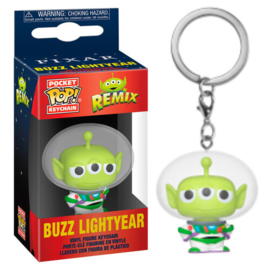 FUNKO Pocket POP keychain Disney Pixar Alien Remix Buzz