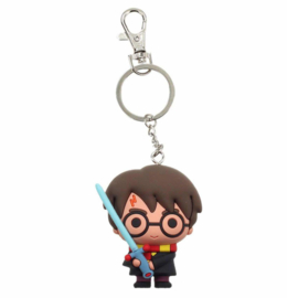Harry Potter sword rubber keychain